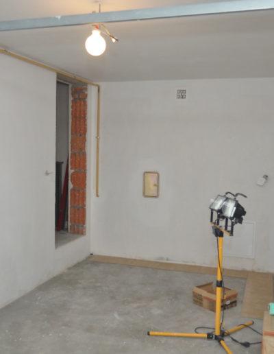 garaż stan surowy